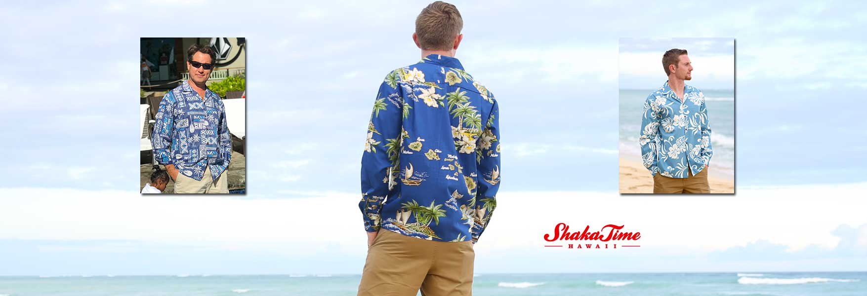 Long Sleeves Hawaiian and Tropical Shirts