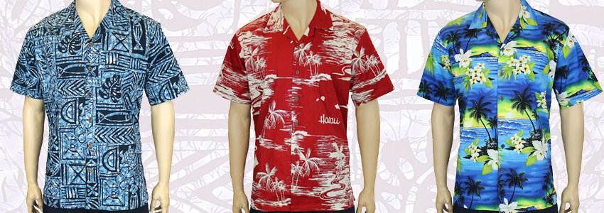 Get free shipping on all Hawaiian shirts. 2 to 3 days shipping from Hawaii to the mainland.