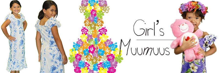 Hula Girl′s Muumuus