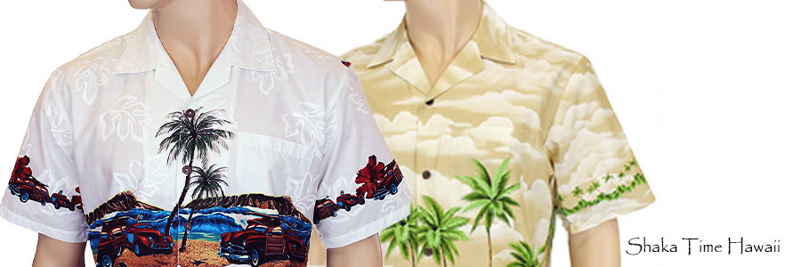 Hawaiian Border Shirt for Men - Free shipping