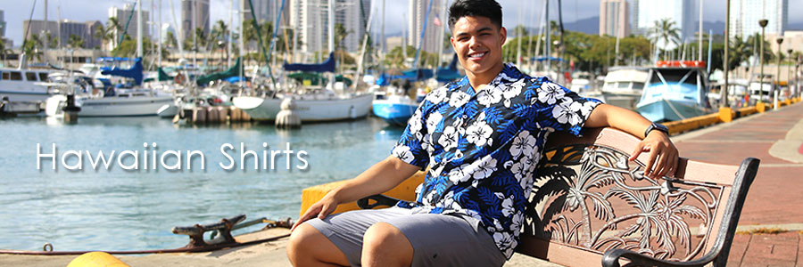 Looking for men's Hawaiian clothing and cool Hawaiian shirts. Check our casual button up Aloha shirts, including short and long sleeve tropical shirt styles made in Hawaii.