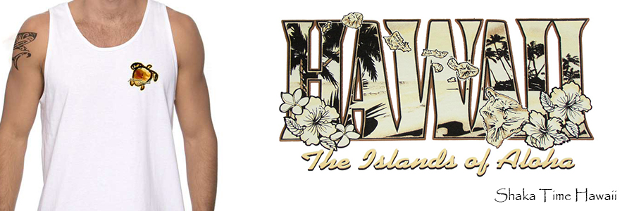 Hawaiian Tank Tops - Sleeveless Tshirts