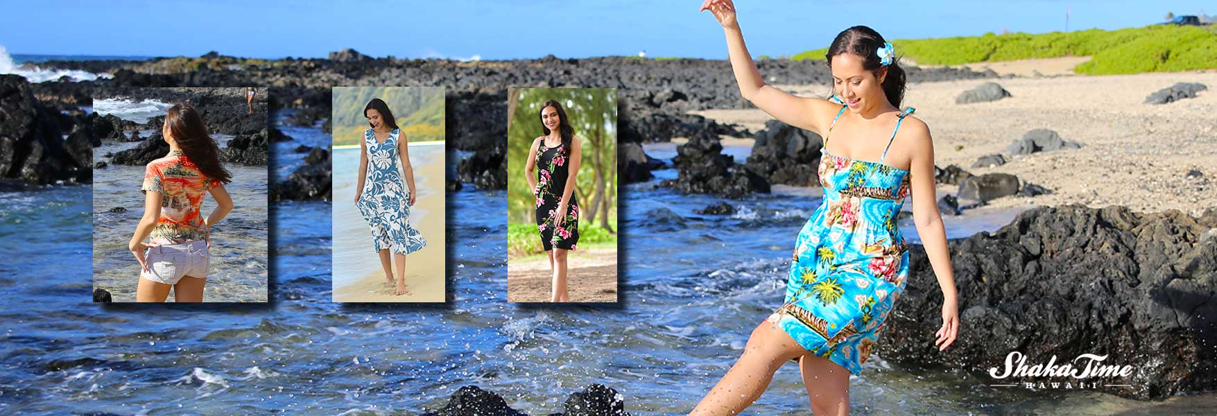 Women Hawaiian Clothes and Summer Apparel