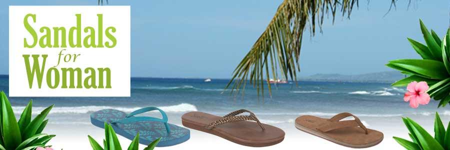 Women Island Sandals - Hawaiian Slippers