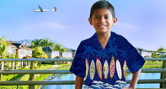 Boy's Aloha Clothes