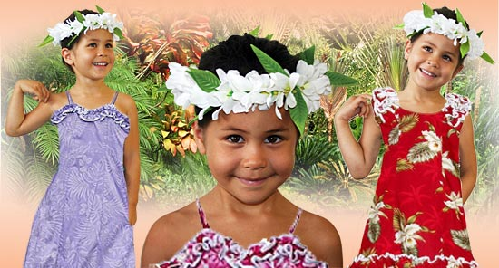 Girl's Hawaiian Clothes