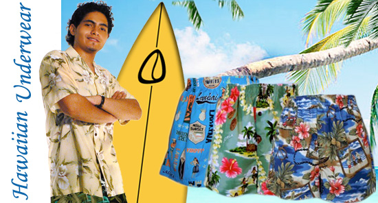 Men's Boxers - Hawaiian Underwear