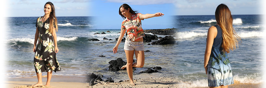 Women Hawaiian Clothes & Island Apparel