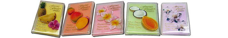 Free Scented Paper Soap 10
