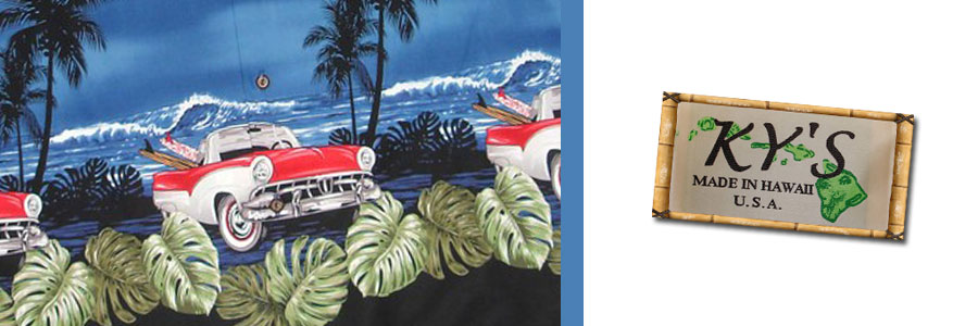 KY Fashions Hawaiian Clothes from Shaka Time Hawaii