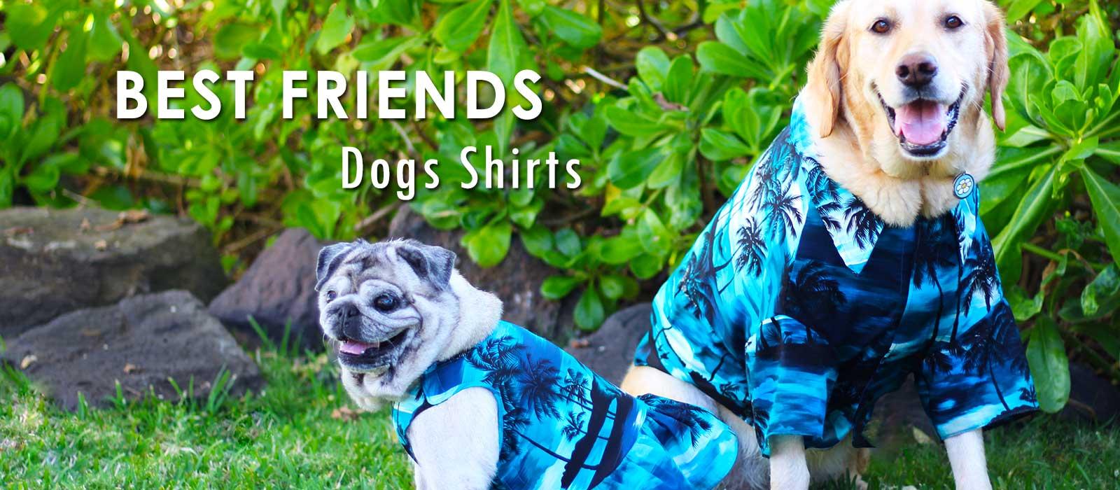 Dog's Aloha Shirts