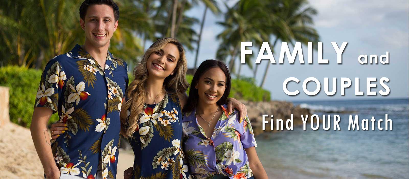 Family Hawaiian Clothes Sets