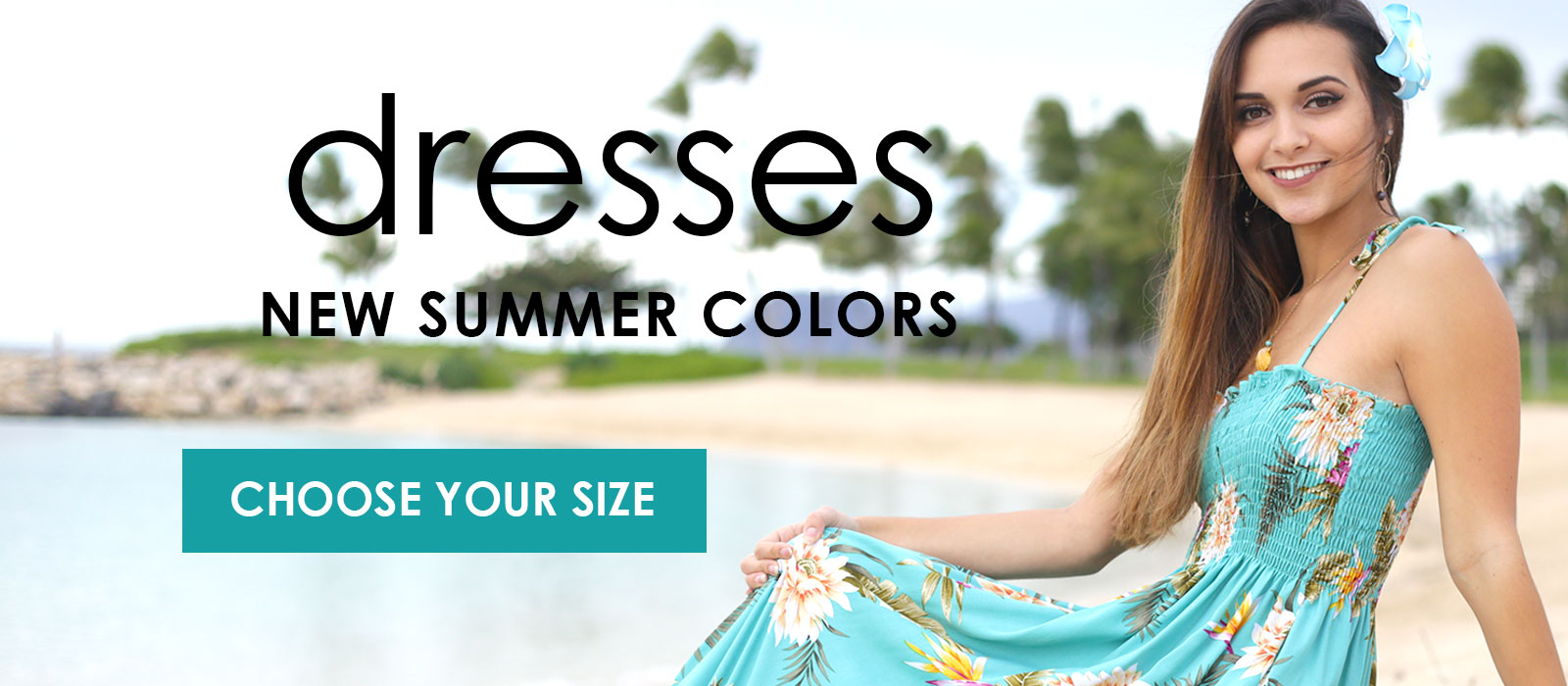 Hawaiian Dresses on Sale