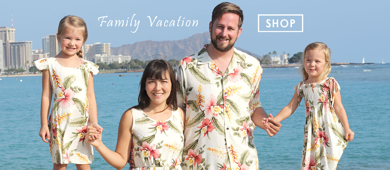 Family Hawaiian clothes